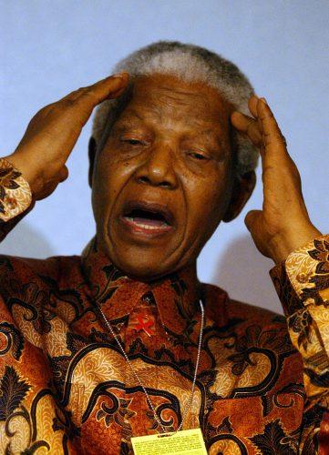 Nelson Mandela © Graeme Hunter Pictures