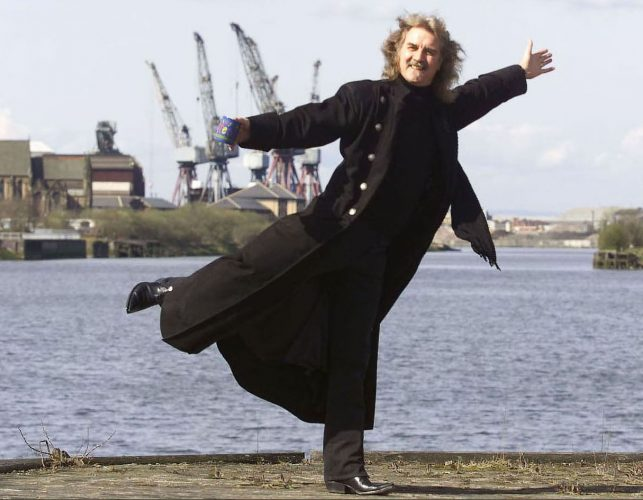 Billy Connolly returns to the Clyde © Graeme Hunter Pictures