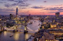 London City By Drone