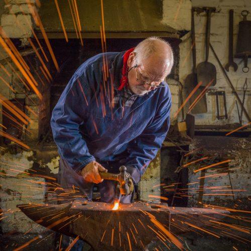 Blacksmith Sparks