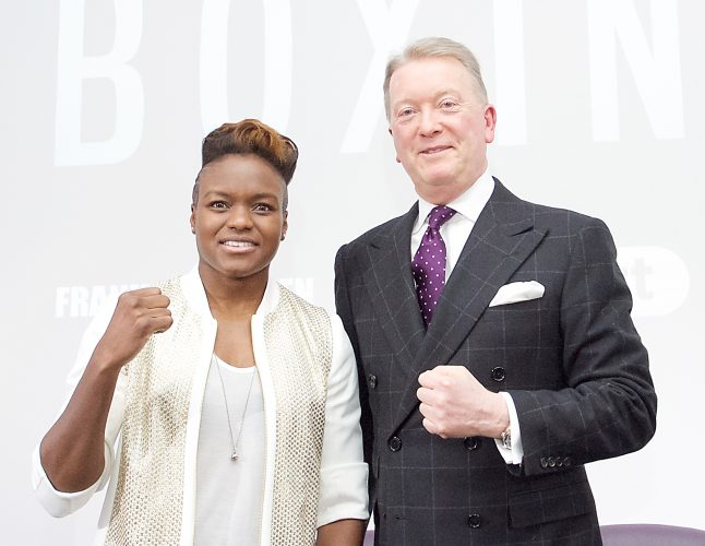 Nicola Adams & Frank Warren Boxing Promoter and BT Sport Press Conference at BT Tower London Great Britain 23rd January 2017