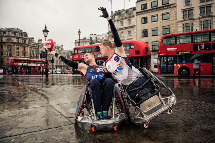 GB Wheelchair Rugby - Trafalgar Square, London