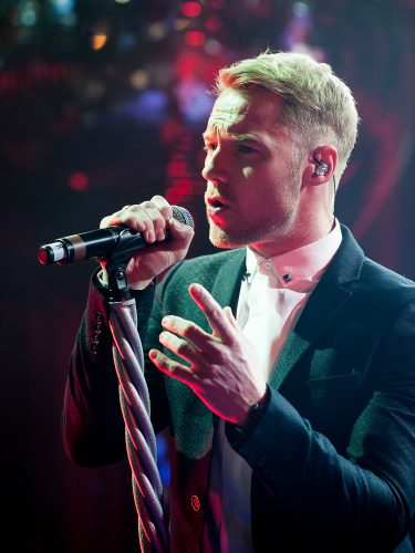 Ronan Keating at the Sport Relief Ball 2014, London, Britain