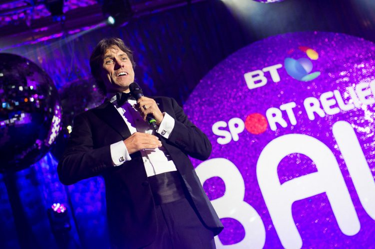 John Bishop, BT Sport Relief Ball 2014, London, Britain