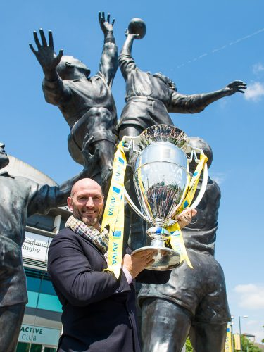 Lawrence Dallaglio, Aviva Premiership Final 2014, London, Britain
