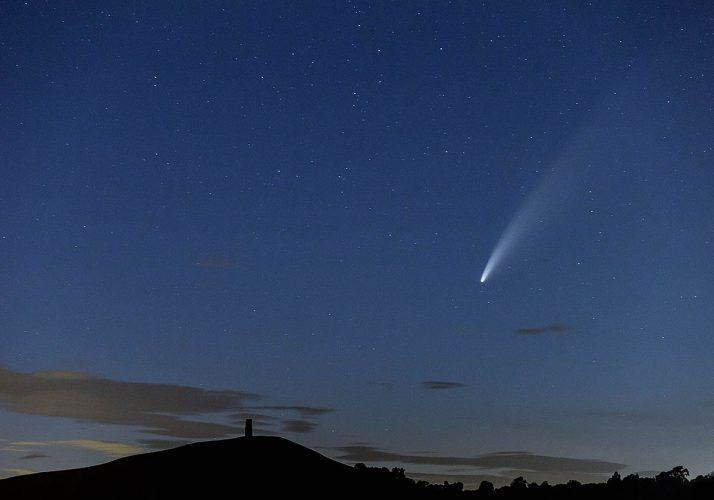 Comet Neowise - Glastonbury - UK