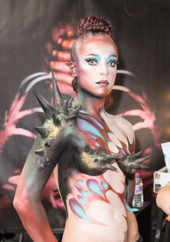 Body Painting at IMATs London 2014