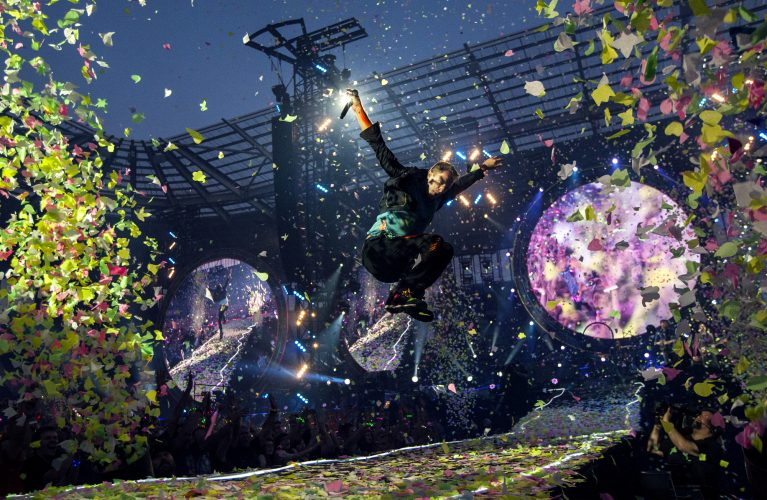 Coldplay, Ricoh Arena, Coventry - 29 May 2015