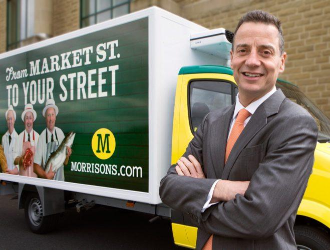 Corporate portrait. Dalton Philips CEO of Morrison