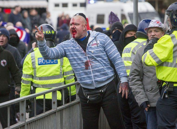 Demonstration- Port of Dover, Sunday Telegraph