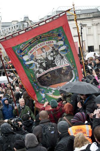 Anti-Thatcher Protest