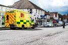 Serios Trafic Accident, Ashtead, Surrey, United Kingdom