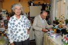 Elderly couple living on top floor flat with medications.
