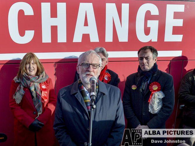 Scottish Lib Dem leader Willie Rennie campaigns in Fife, Wednesday 13 November 2019
