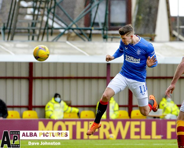 Motherwell v Rangers, Scottish Premiership, Sunday 17 January 2021
