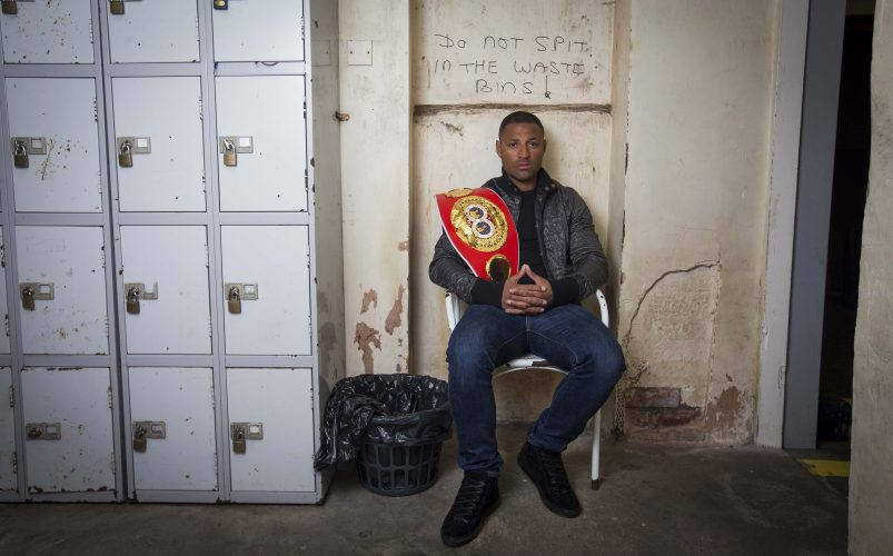 Kell Brook portrait session