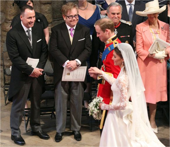 PIC JON BOND MARRIAGE OF PRINCE WILLIAM 29.04.2011