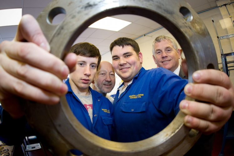PR piece on TEESSIDE apprentices - (C) Keith Blundy / Aegies PR
