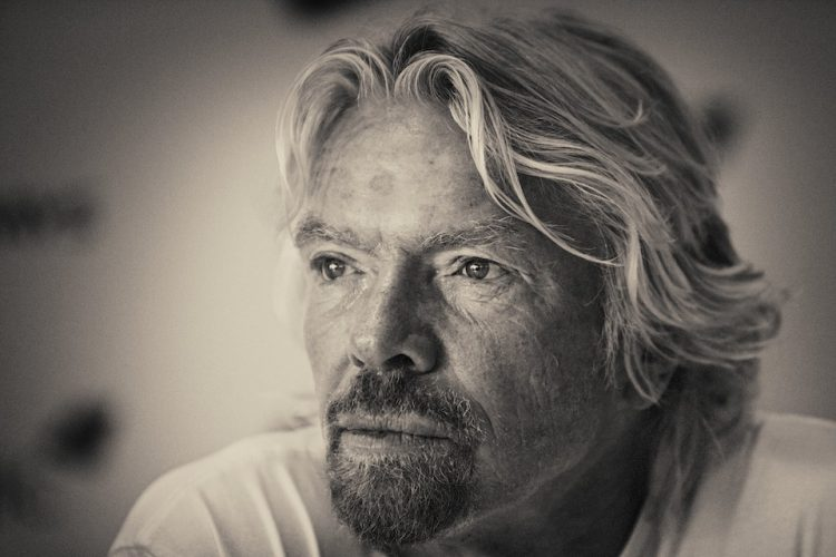 Virgin Atlantic press conference at the Royal Hideaway resort in Riviera Maya. Sir Richard Branson, Founder and President of Virgin. Riviera Maya. Mexico