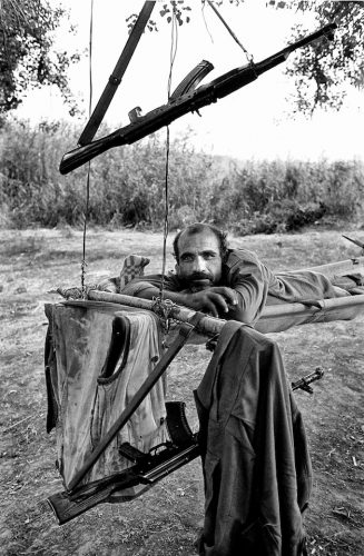 Cease Fire. The secondary line in Martakert, Karabakh.