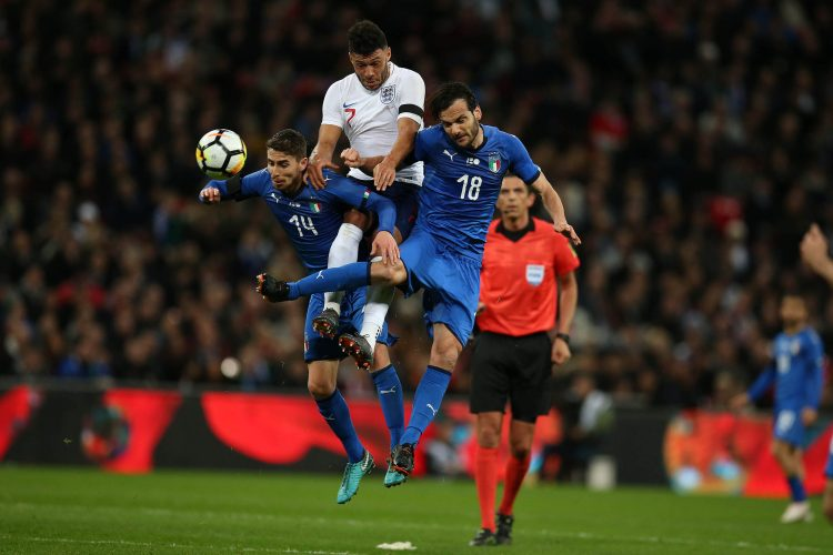 London , UK  27th March 2018        England v Italy    International football