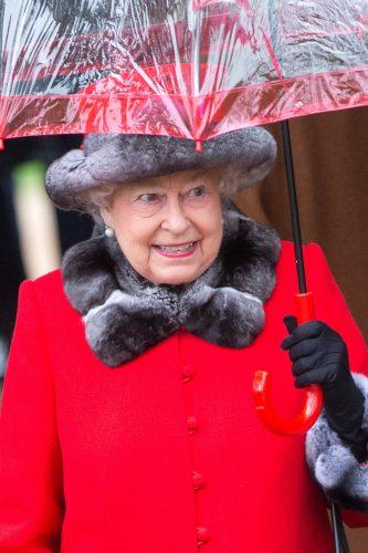 Royal Family at Sandringham on Christmas Day