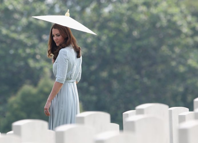 The Duke And Duchess Of Cambridge Tour Southeast Asia - Day 3
