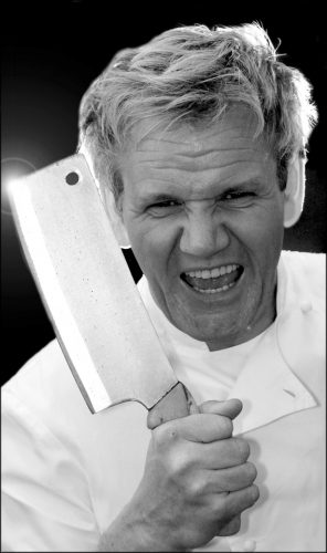 PIC JON BOND CHEF GORDON RAMSAY