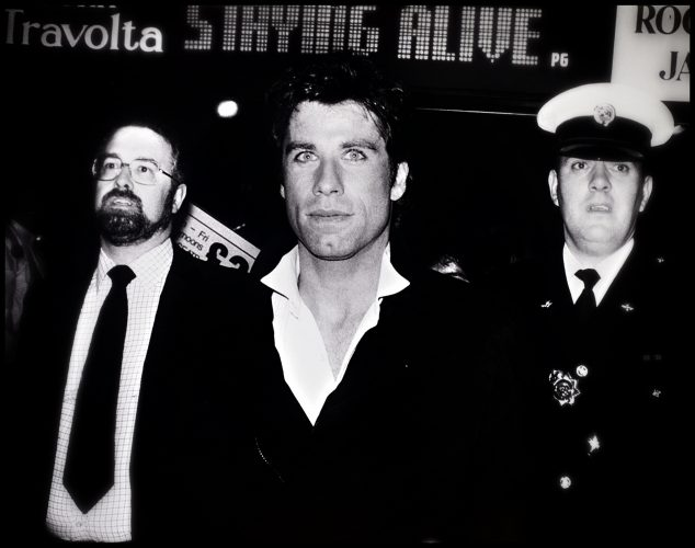 John Travolta ; Staying Alive 1983 London