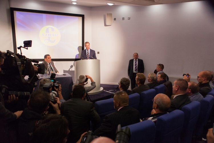 Nigel Farage MEP, leader of Ukip - Glasgow, 12/09/2014