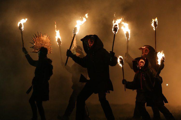 Imbolc Fire Festival in Marsden