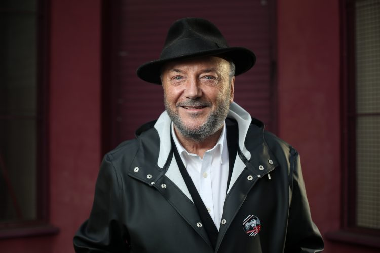 George Galloway's Gorton launch.