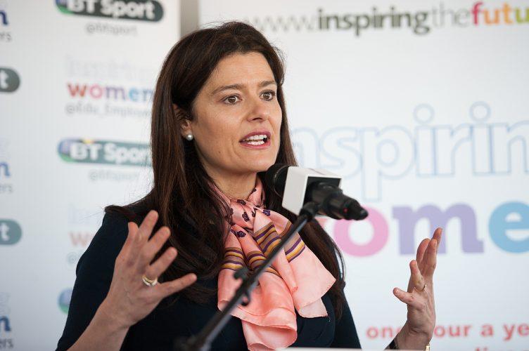 Miriam Clegg - Inspiring Women in Sport launch 20th January 2015