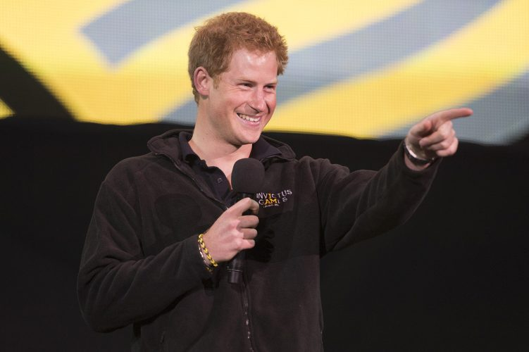 Prince Harry at the Invictus Games 2014, London
