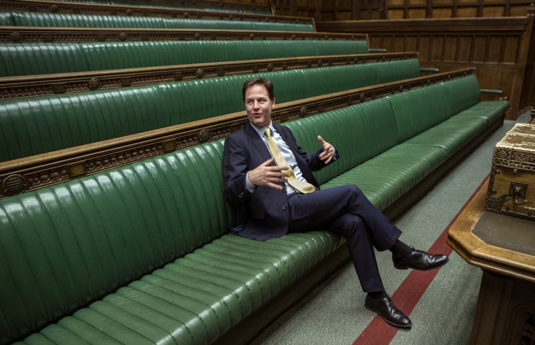 Nick Clegg in the House of Commons