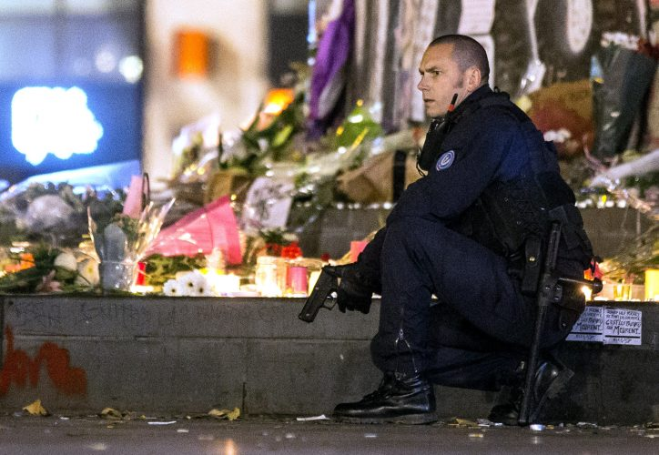 Terrorist attacks, Paris, France - 15 Nov 2015