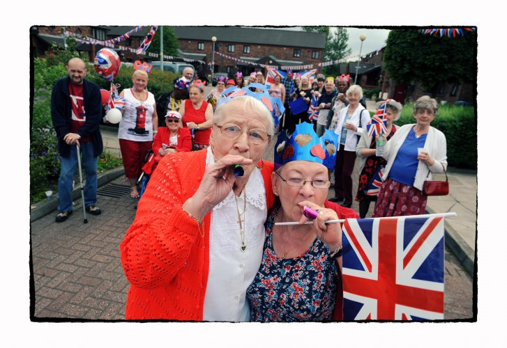 The Queen's Jubilee celebrations in Salford.