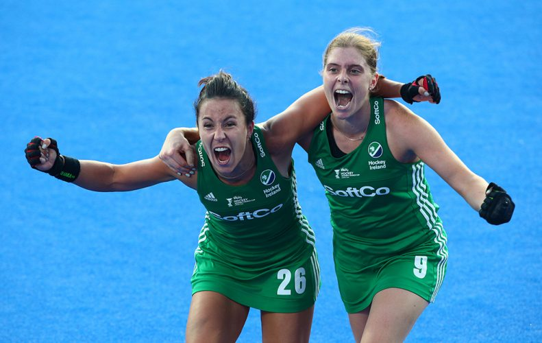 Ireland against India - Quarter Final  - FIH Hockey Women's World Cup 2018 - Day 12