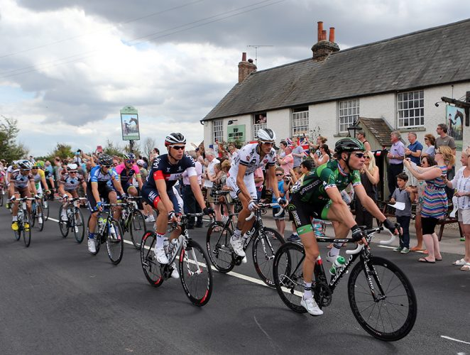 Cycling - 2014 Tour De France - Monday 7th July 2014 - Stage 3 - Cambridge to London