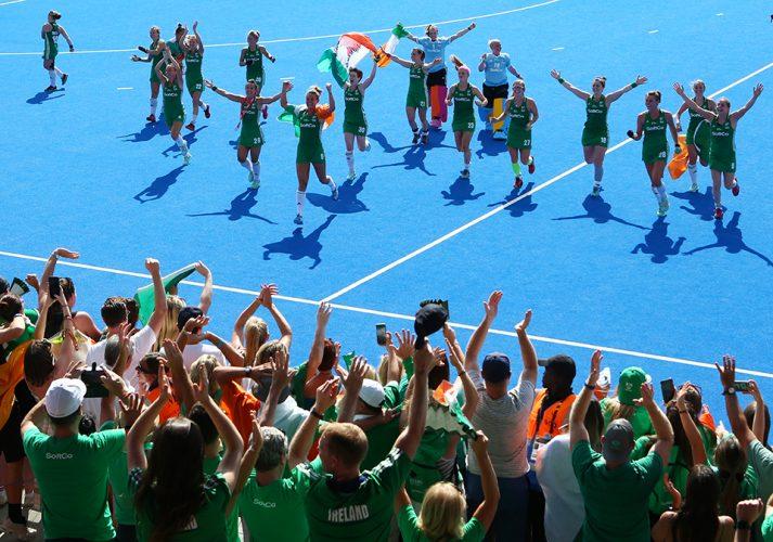 Ireland against Spain - Semi Final  - FIH Hockey Women's World Cup 2018 - Day 13