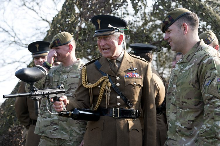 Prince Charles Welsh Guards