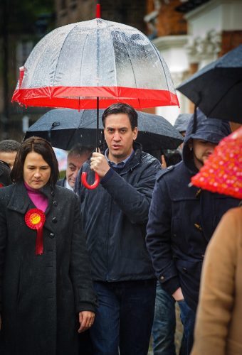 Miliband in Crouch End
