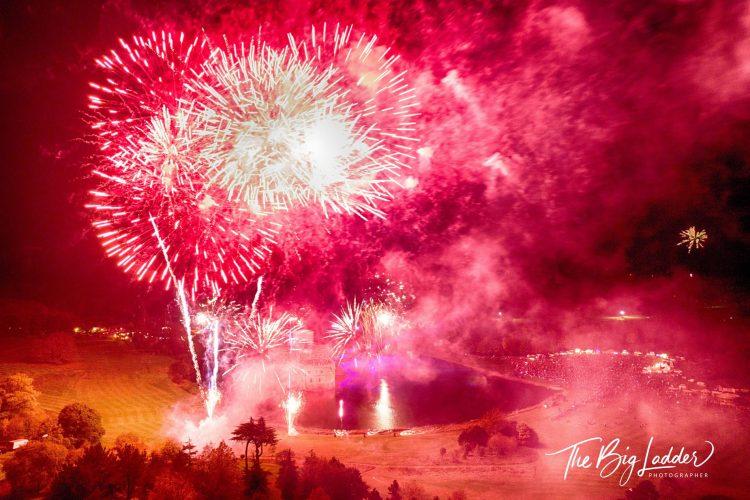Fireworks at Lulworth Castle