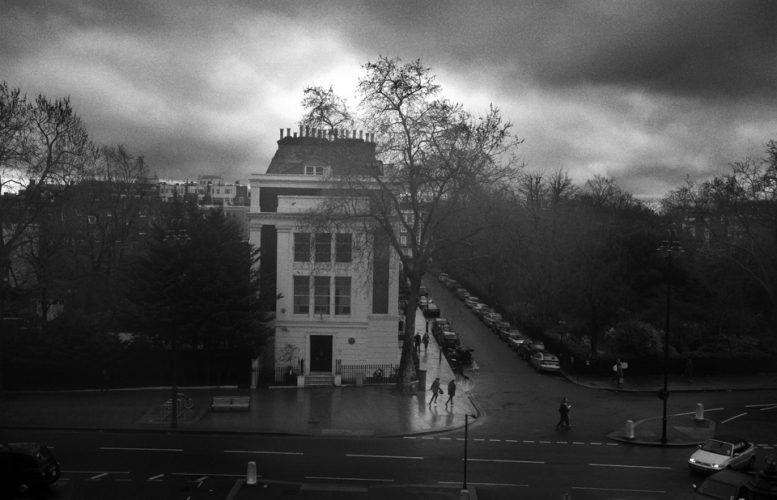 London in the Rain, London, England. 4-1-2014