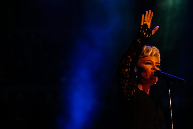 Emeli Sandé performs at the Royal Albert Hall in aid of The Pri
