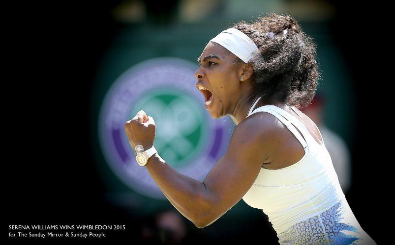 Serena Williams v Garbine Muguruza women's singles final