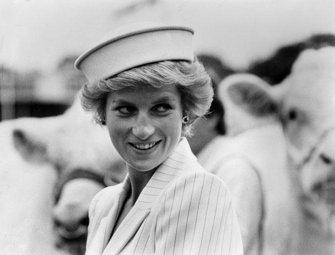 Princess Diana Attends Royal Show 8801