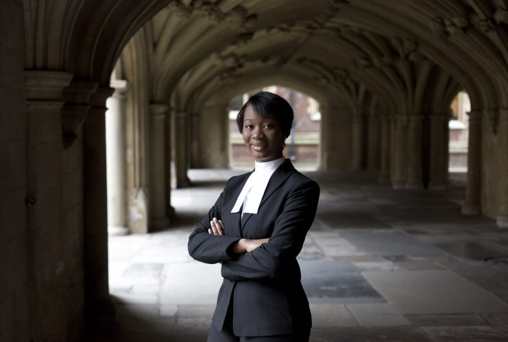 The University of Law graduate Gabrielle Turnquest, at 18, was the youngest person in the history of the English and Welsh legal system to be called to The Bar