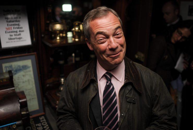 Nigel Farage in Dudley, West Midlands