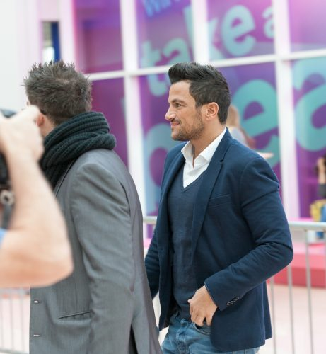 Peter Andre at the Clothes Show Live 2014